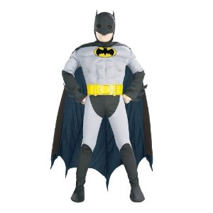 Muscle Chest Batman Deluxe Child Costume